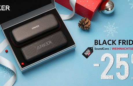 Anker Aktion: SoundCore 2 Special Weihnachtsedition 25% billiger! 20
