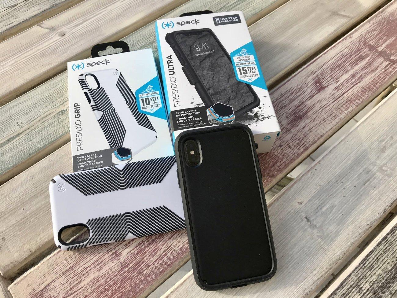 iPhone X Hüllen: Speck Presidio Grip & Ultra im Test 1