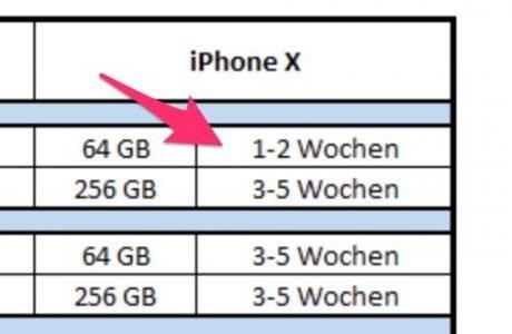 iPhone X bei Telekom in 1-2 Wochen lieferbar! 8