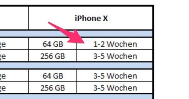 iPhone X bei Telekom in 1-2 Wochen lieferbar! 9