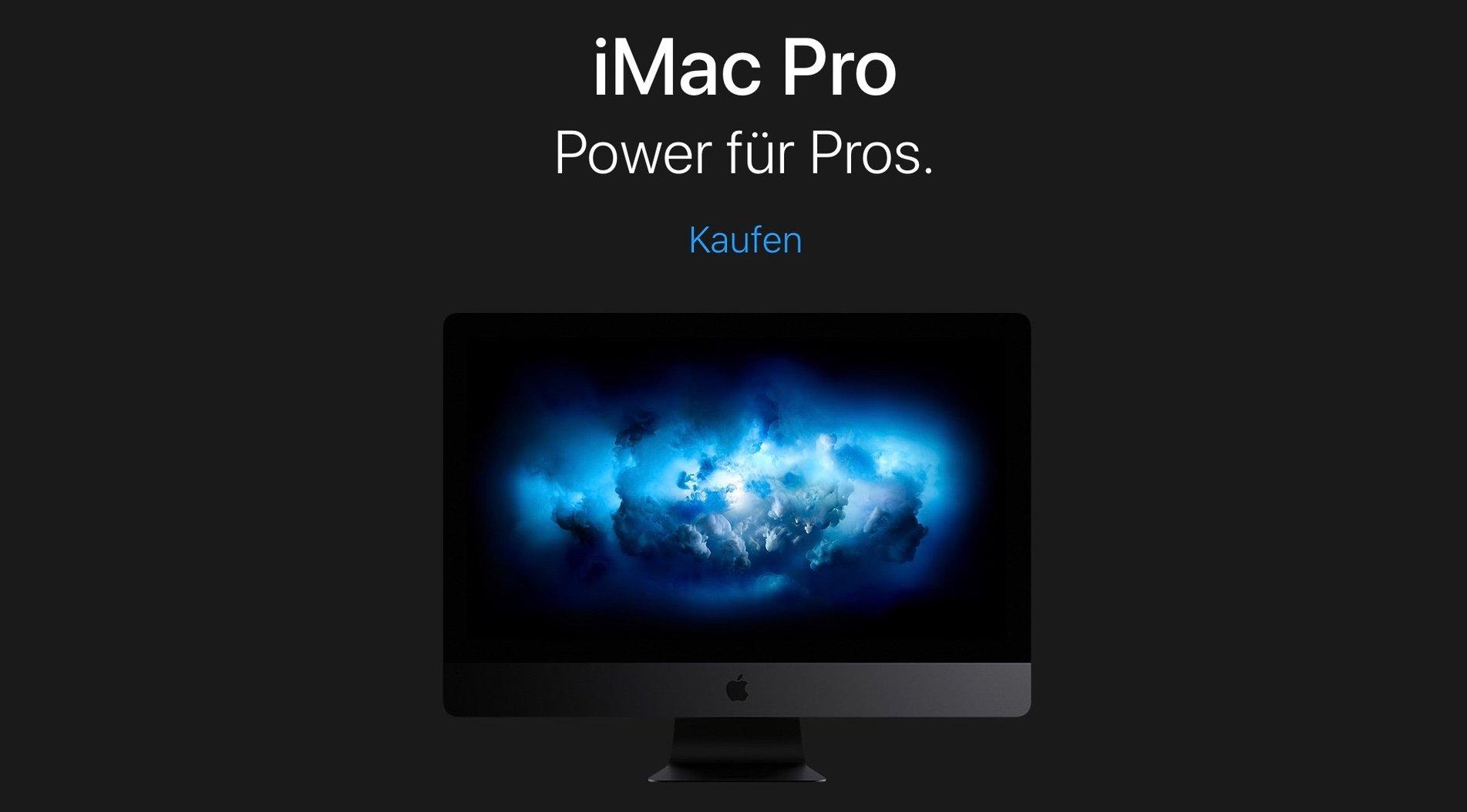 Apple iMac Pro: Käufer werden nach Feedback gefragt 1