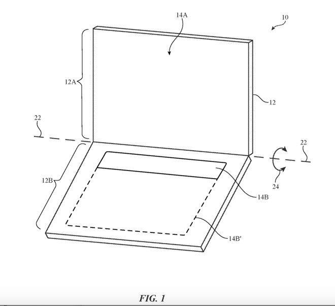 Neues Apple-Patent zeigt klappbares OLED-Display für iPad und MacBook 6