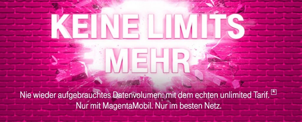 Telekom MagentaMobil XL: Neuer Telekom Tarif mit unbegrenzter LTE Datenflat