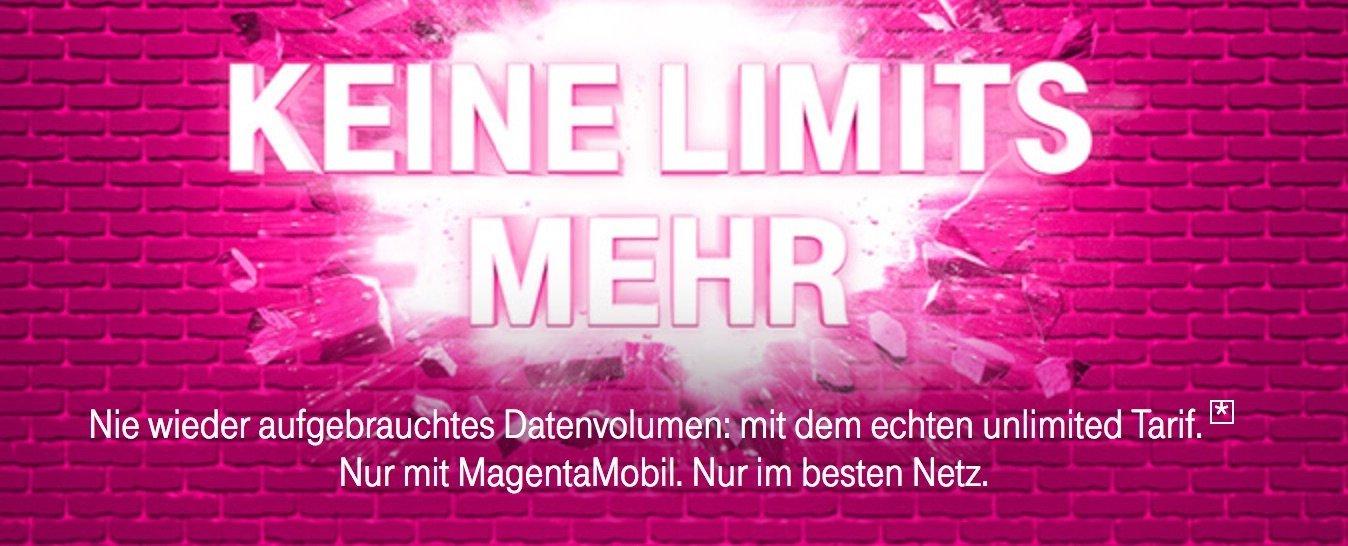 Telekom MagentaMobil XL: Neuer Telekom Tarif mit unbegrenzter LTE Datenflat 5