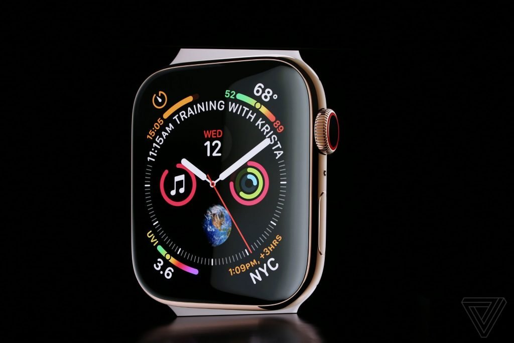 Apple Watch Series 4 im Hands-on Video