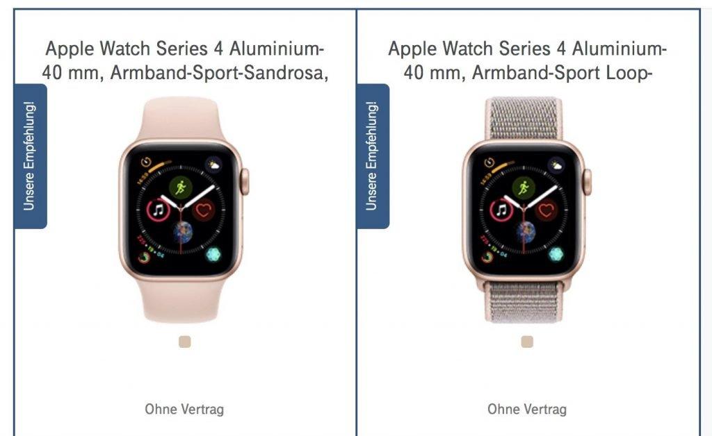 Apple Watch Series 4 bei Telekom vorbestellen