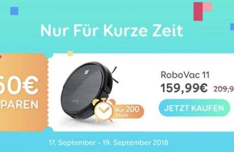 Staubsaugroboter für 159,99€ - Eufy RoboVac 11 Aktionsangebot 6