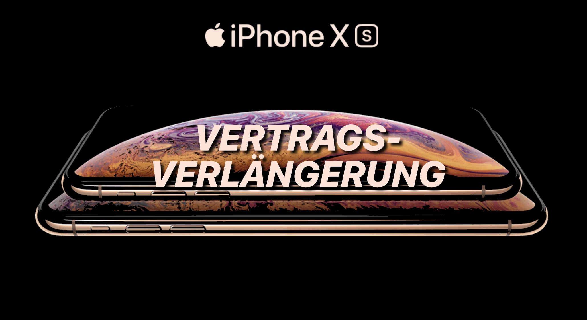 iPhone XS Vertragsverlängerung 1