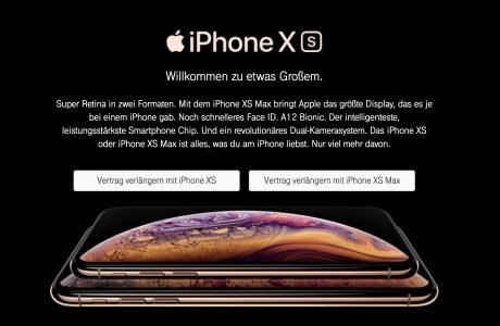 Telekom Vertragsverlängerung (VVL) mit iPhone XS (Max) 2