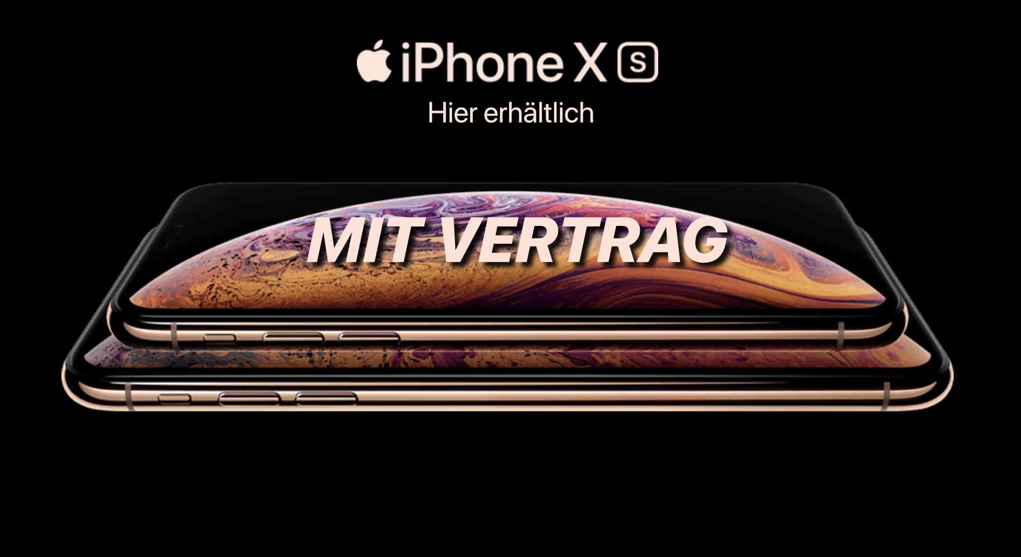 iPhone Xs mit Vertrag kaufen 1
