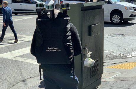 Apple Maps: Mitarbeiter läuft mit Rucksack durch San Francisco 5
