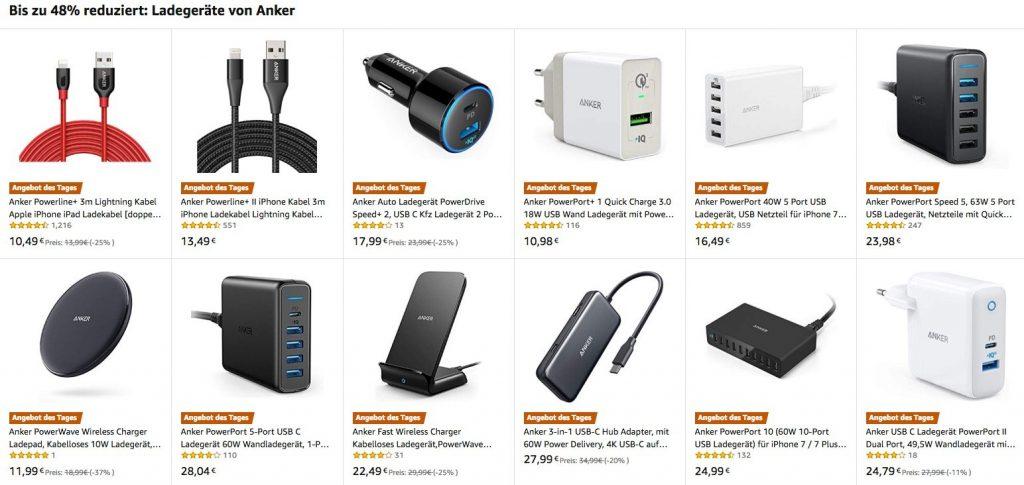 iPhone Ladegeräte, USB-C Hubs, Wireless Charger & Saugroboter heute günstiger 2