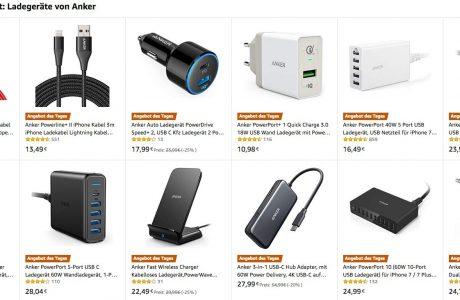 iPhone Ladegeräte, USB-C Hubs, Wireless Charger & Saugroboter heute günstiger 3