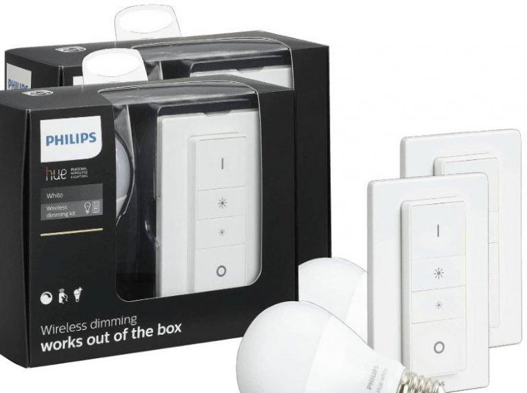 aktion philips hue wireless dimming kit geschenkt e27 fernbedienung. Black Bedroom Furniture Sets. Home Design Ideas