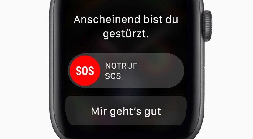 Feuerwehr München: Apple Watch setzt nach Sturz einer 80-jähriger Frau Notruf ab 1
