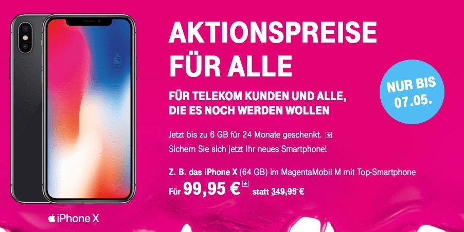 Telekom Aktion zu Ostern: iPhones günstiger und bis zu 6 GB geschenkt! 1