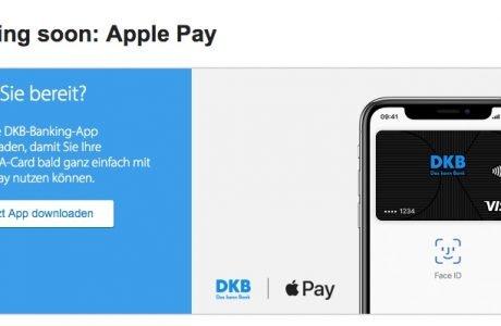 DKB: Google Pay vor Apple Pay und mit 10 Euro Aktivierungsbonus 1