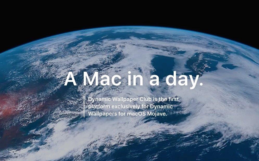 Mac Tipp: Dynamic Wallpaper Gallery & dynamische Schreibtischhintergründe für macOS Mojave selbst erstellen 1