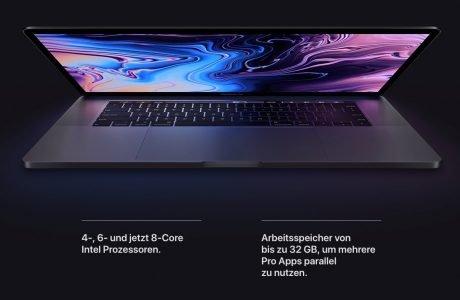 Das schnellste MacBook aller Zeiten: MacBook Pro 2019 mit 8 Kernen 7