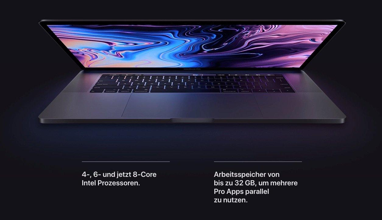 Das schnellste MacBook aller Zeiten: MacBook Pro 2019 mit 8 Kernen 3
