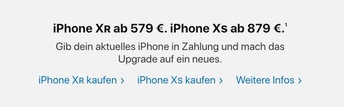 Apple Trade In: Bis zu 567 Euro Gutschrift für altes iPhone 3