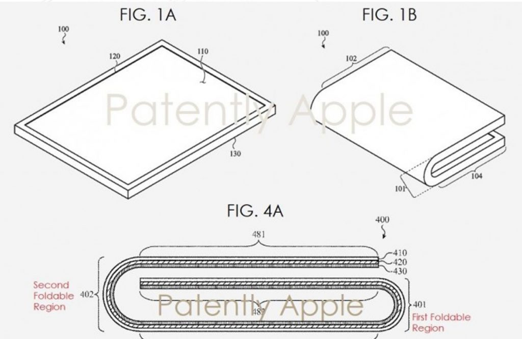iPhone Fold: Apple Patent zeigt mehrfach faltbares iPhone 3