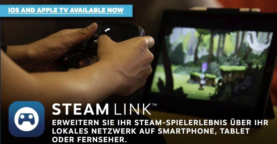 Endlich: Steam Link für iPhone, iPad und Apple TV 1