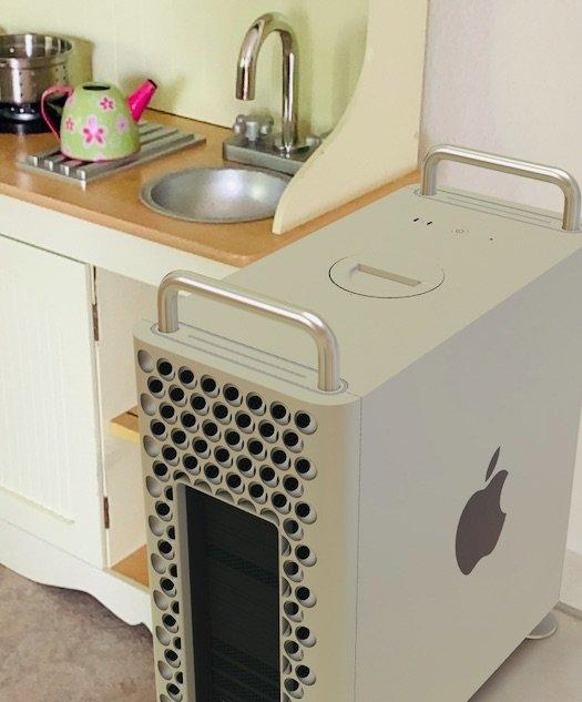 Mac Pro 2019: wie würde sich der neue Mac Pro bei Euch zuhause machen? 2
