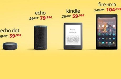 Amazon Echo Input für 24€, Echo Dot für 39€, Kindle für 59€ 3