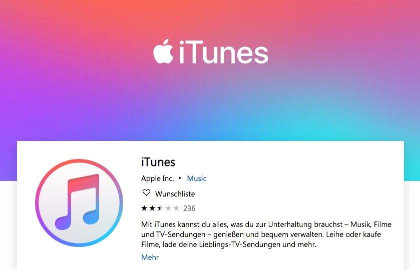 Nach iTunes Ende: wie geht es mit iTunes für Microsoft Windows weiter? 1