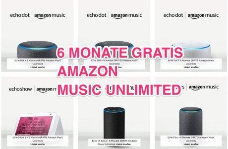 6 Monate Amazon Music kostenlos mit Echo Dot (neueste Generation) für 19,99€ 1