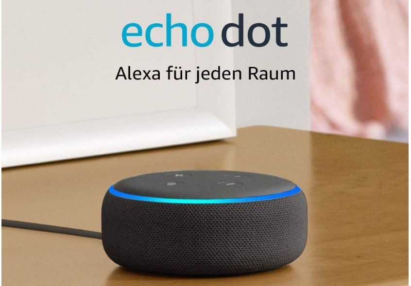 40€ billiger: Amazon Alexa Echo Dot 3 für 19 Euro! 1