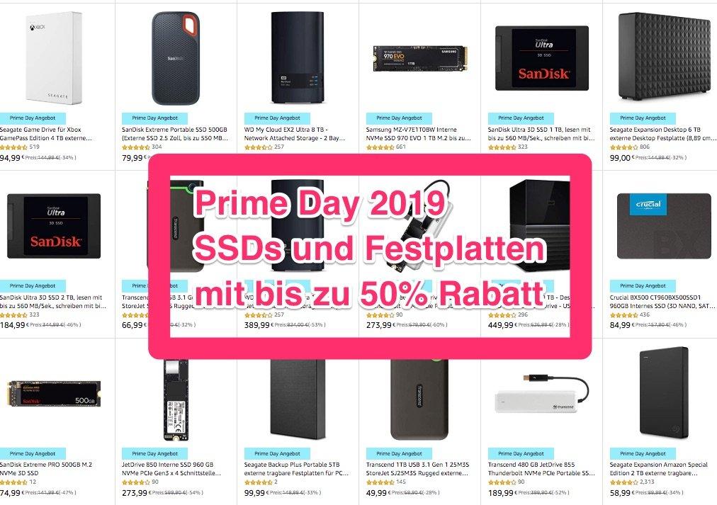 SSDs bis 50% billiger: externe & interne Festplatten und SSD mit M.2, NVMe, PCIe, SATA 1