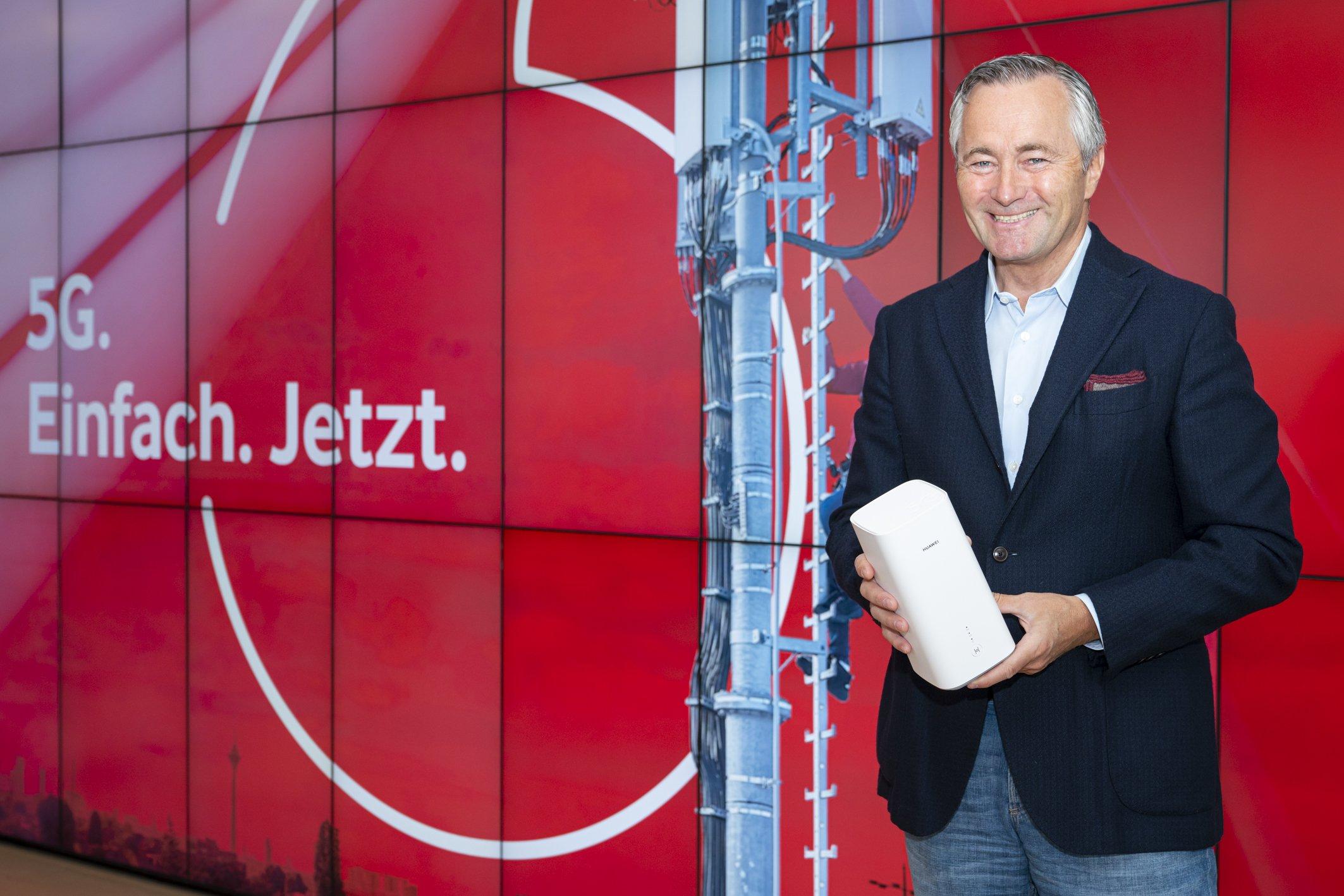 5 Euro fürs 5G Netz: Vodafone startet 5G für jedermann 1