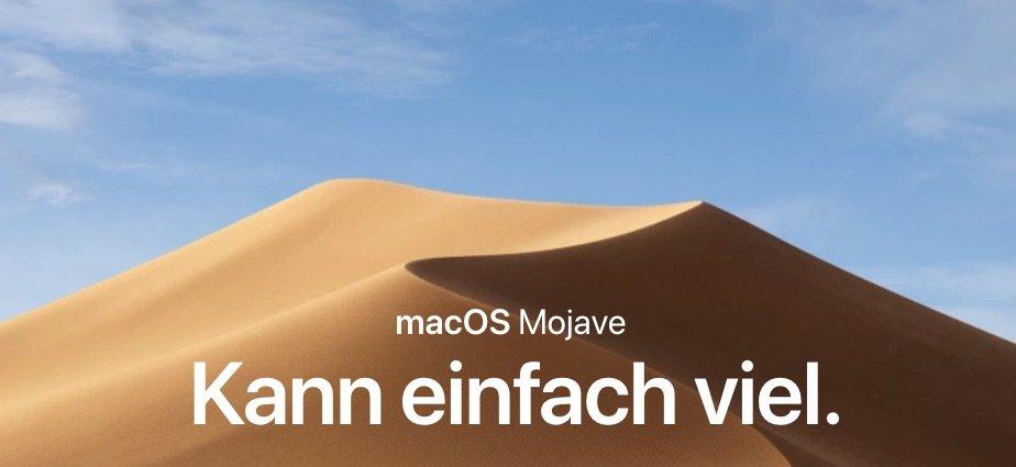 Mac Updates: macOS Mojave 10.14.6 veröffentlicht 1