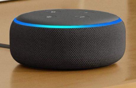 Mit Gutscheincode: Zwei Amazon Echo Dot 3. Gen Alexa Lautsprecher zum Preis von einem 6