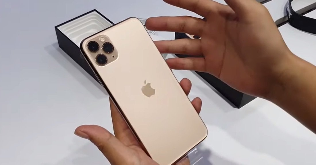 Goldenes iPhone 11 Pro Max im ersten Hands-On Test 1