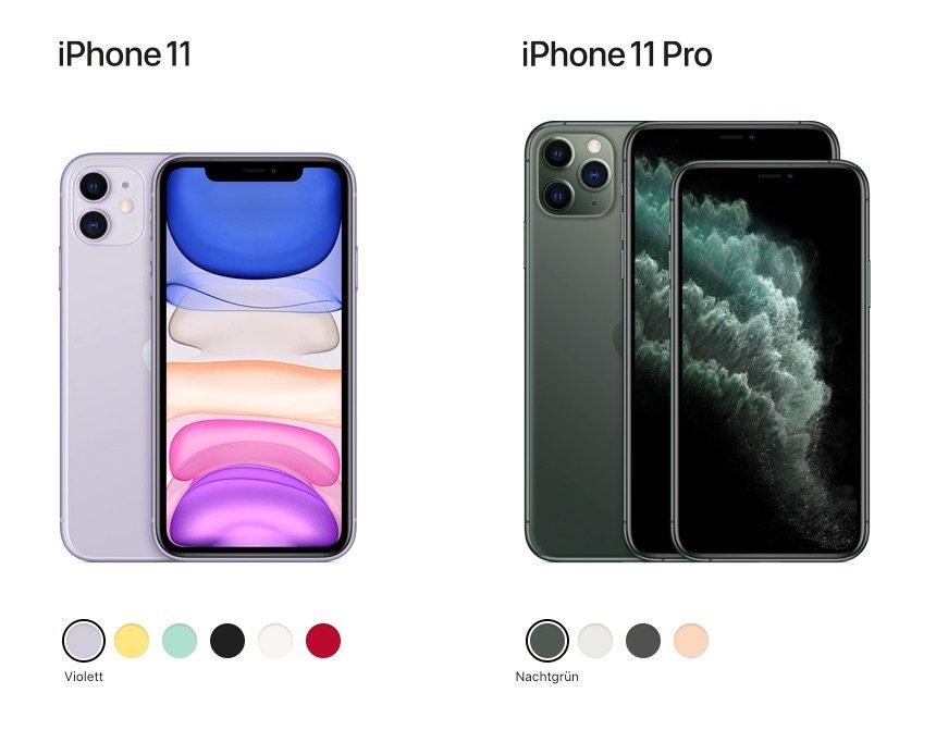 Unterschiede: Gründe für das iPhone 11 und iPhone 11 Pro im Vergleich 1