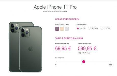 Tarife & Preise für iPhone 11, iPhone 11 Pro Max mit Telekom Vertrag 13