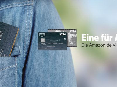 Apple Pay bei Amazon Visa Kreditkarte & ADAC Kreditkarte der LBB 7