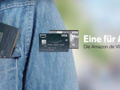 Apple Pay bei Amazon Visa Kreditkarte & ADAC Kreditkarte der LBB 6