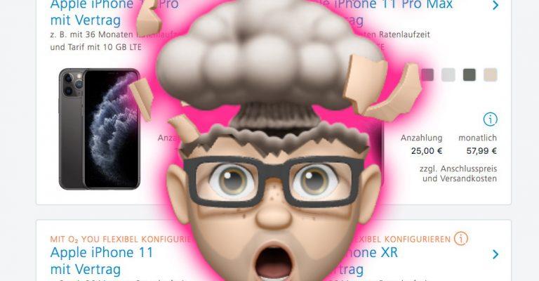 O2 You: Neue flexible O2 Tarife mit iPhone 11 (Pro) & Ratenzahlung jetzt verfügbar 1