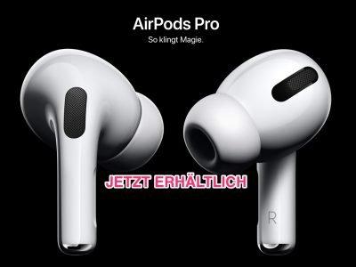 Ab sofort erhältlich: AirPods Pro für 279 Euro hier bestellen 4
