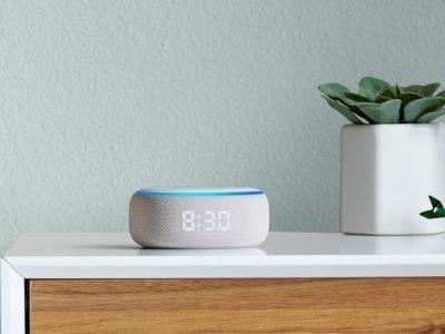 Neuer Amazon Echo Dot mit LED Uhr heute 15 Euro billiger 12