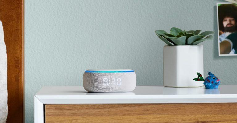 Neuer Amazon Echo Dot mit LED Uhr heute 15 Euro billiger 1