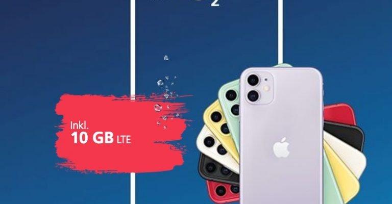 O2 macht's möglich: iPhone 11 für 21 Euro monatlich 1