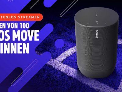 Gewinne einen von 100 Sonos Move Lautsprechern 15