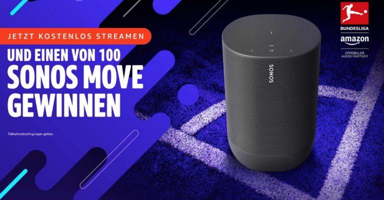 Gewinne einen von 100 Sonos Move Lautsprechern 1