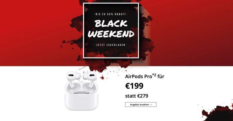 199€ AirPods Pro Angebot bringt Online Shop zum Erliegen 1