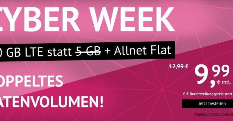 10 GB LTE & Allnet-Flat für 9,99 Euro monatlich 1